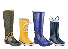 Take On the Rain & Cold Boots That Make a Splash
