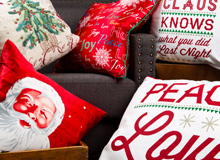 Decorate with Cheer Holiday-Ready Pillows