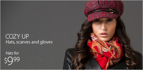 Cozy Up - Hats, Scarves and Gloves