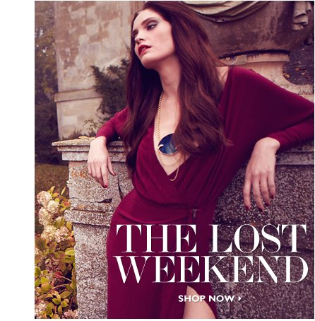 THE LOST WEEKEND READ & SHOP