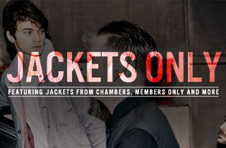 Jackets Only