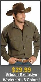 $29.99 Gibson Shirt