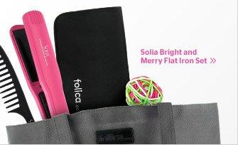 Solia Flat Iron Set