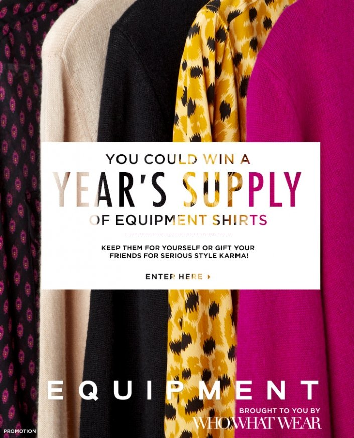 Enter To Win: Equipment Shirts
