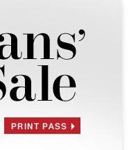 Print In-Store Pass