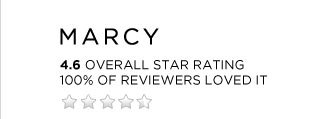Marcy - 4.6 Star Rating