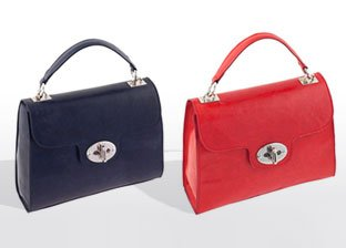 Ore10 Genuine Leather Handbags Made in Italy