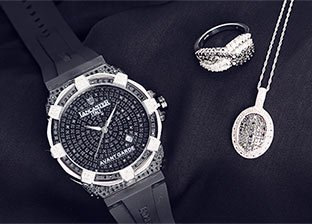 Black Diamond Jewelry & Watches