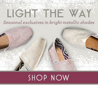 Light the way - seasonal exclusives in bright metallic shades