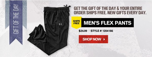 GET THE GIFT OF THE DAY AND YOUR ENTIRE ORDER SHIPS FREE.