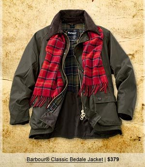 Barbour Classic Bedale Jacket | $379
