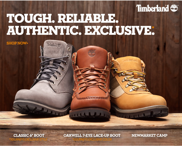 Tough. Reliable. Shop exclusive Timberland styles!