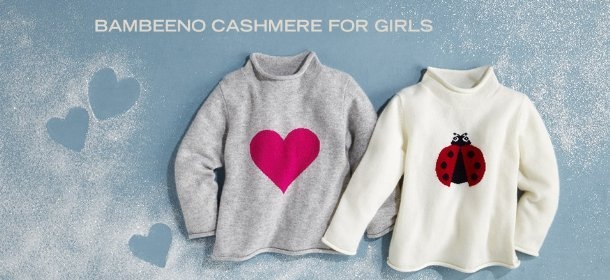 BAMBEENO CASHMERE FOR GIRLS, Event Ends November 11, 9:00 AM PT >