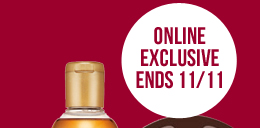 Online Exclusive Ends 11/11