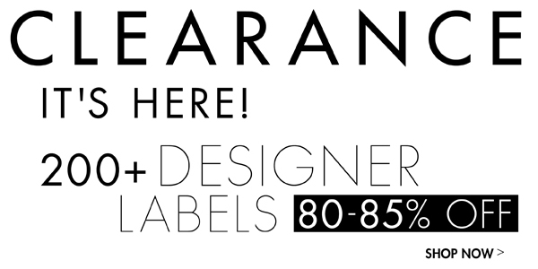 Clearance 80%-85%  off >