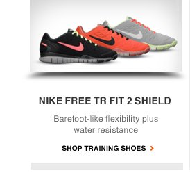 NIKE FREE TR FIT 2 SHIELD | Barefoot-like flexibility plus water resistance | SHOP TRAINING SHOES