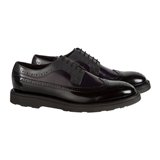Paul Smith Shoes - Black Grand Longwing Brogues