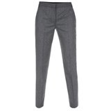 Paul Smith Trousers - Grey New Tweed Slim-Fit Trousers