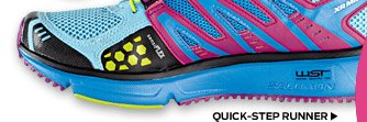 The Quick Step Runner >