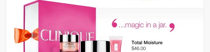 """""""…magic  in a jar."""" Total Moisture $46.00"""
