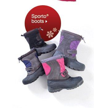 Sporto® boots. Shop now.