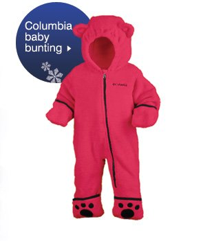 Columbia baby bunting. Shop now.