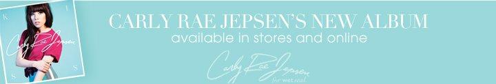 Carly Rae Jepsens New Album - Buy Now