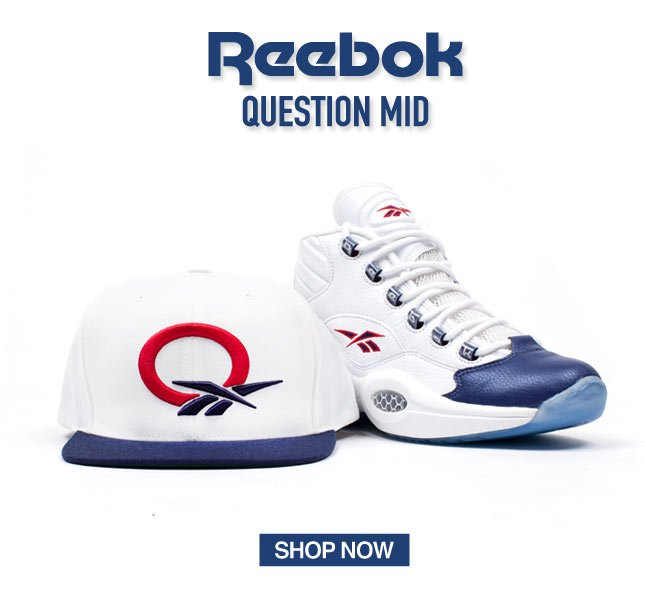 Iverson + Reebok Question Mid - Limited Quantities
