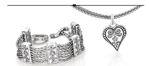 French Quarter bracelet and necklace.
