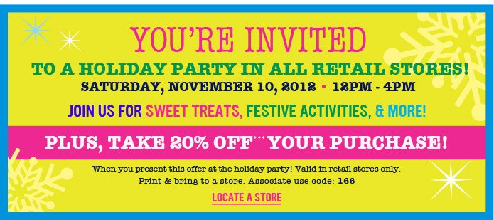 Plus, Take 20% off*** your purchase!