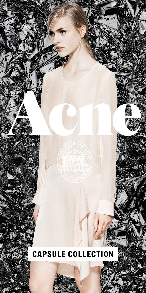 Acne Studios Capsule Collection
