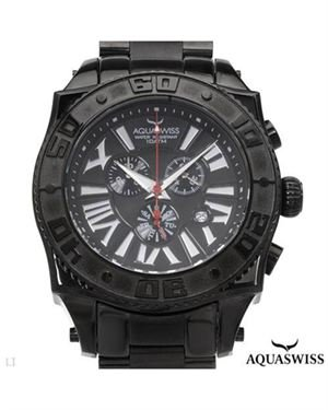 Brand New AQUASWISS Made In Switzerland Stainless Steel Watch $259