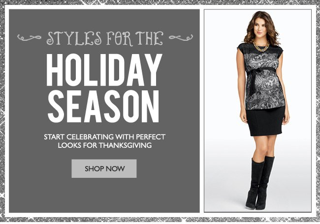 Styles for the Holiday Season - Holiday Fashions