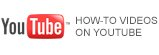 HOW-TO VIDEOS ON YOUTUBE