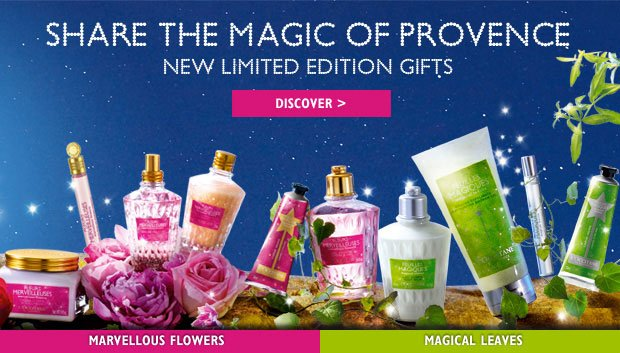 NEW Limited Edition Gifts - Share the Magic of Provence