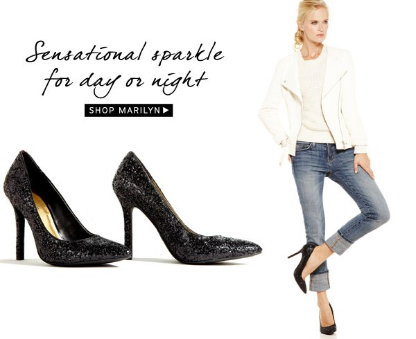 Sensational sparkle for day or night. Shop Marilyn