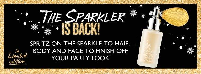 The Sparkler is Back!
