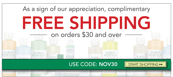 As a sign of our appreciation, complimentary shipping over $30 has been extended.