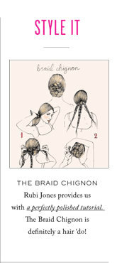 STYLE IT - THE BRAID CHIGNON
