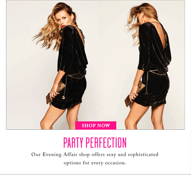 PARTY PERFECTION - SHOP NOW