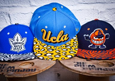 Shop Rep Your Team: Zephyr Snapbacks