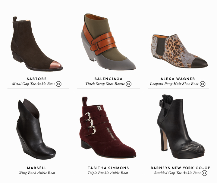 Outstanding ankle boots: Shop the season's best.