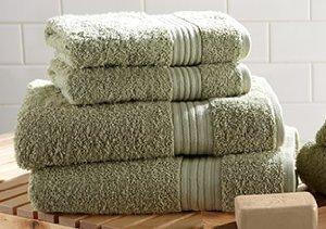Bathroom Makeover: Bath Towels & Linens