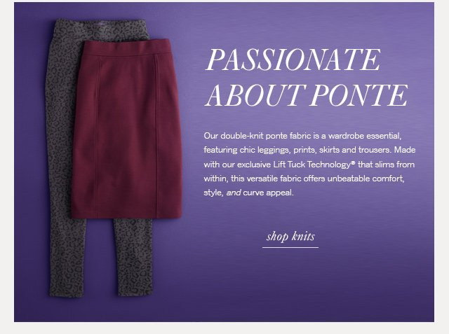 Passionate about ponte