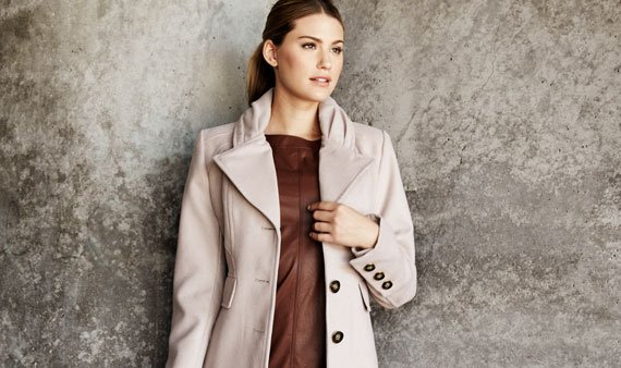 Jessica Simpson Outerwear Featuring Plus Sizes   - Visit Event