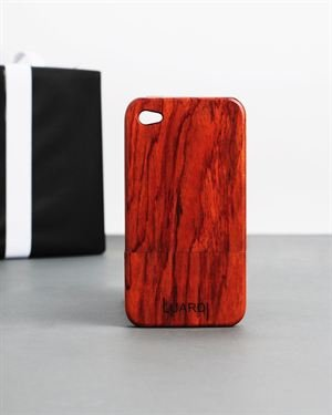 Luardi Padouk Wood IPhone 4 Case $45