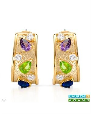 LAUREN G. ADAMS Earrings Designed In Yellow Gold Plated Silver $35