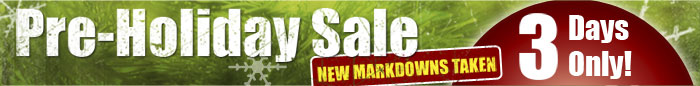 Pre-Holiday Sale