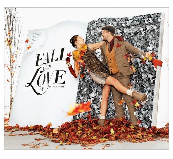 Fall in love by vente-privee