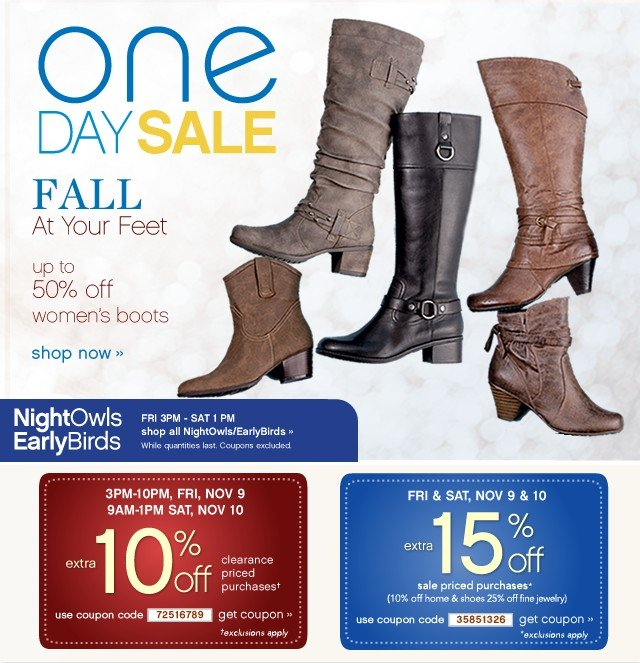 One Day Sale. Extra 10% or extra 15% off. Get coupon.